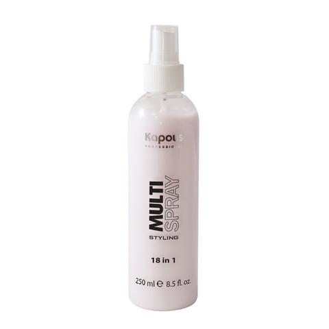 Kapous, Мультиспрей для укладки волос 18 в 1 « Multi Spray», 250 мл