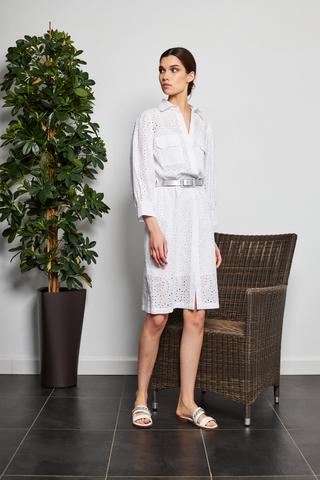 D.Exterior Платье-рубашка из ришелье