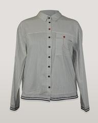 Блузка Alekssandra Санго рубашка полосочка