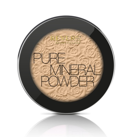 REVERS Пудра 9г MINERAL PURE №04 (*3)