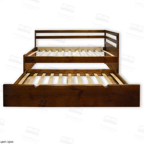Детская угловая кровать Шале