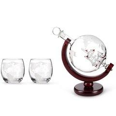Набор для виски «Глобус с бокалами», фото 1