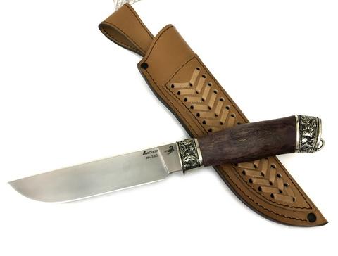Нож Кобра, BOHLER M390, стабилизированная карельская береза