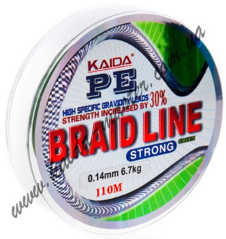 Плетенка BRAID LINE KAIDA strong YX-112-16