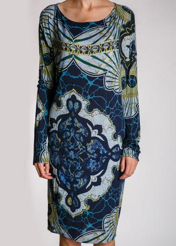 Платье из вискозы EMILIO PUCCI