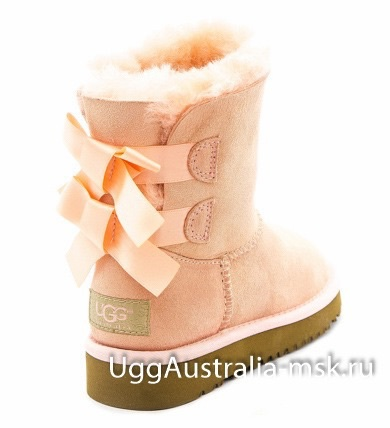 Ugg Kids Bailey Bow Pink