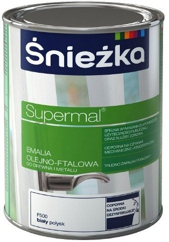 Масляно-фталевая эмаль Śnieżka Supermal