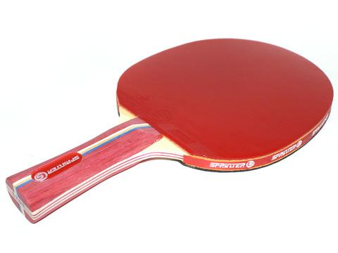 Ракетка для игры в настольный тенис Sprinter 2**, для развивающихся игроков. Скорость: 7 Вращение: 8 Контроль: 7 :(S-203,):
