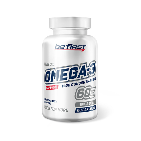 Be First Omega-3 60% High Concentration 60 капсул