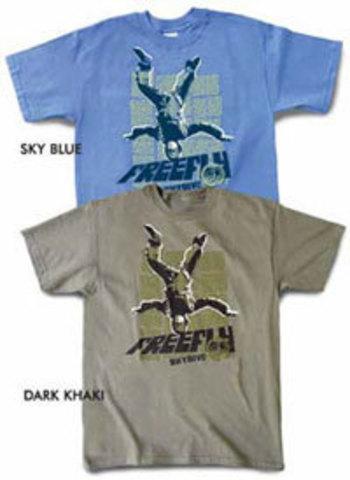 Парашютная футболка Freefly guy