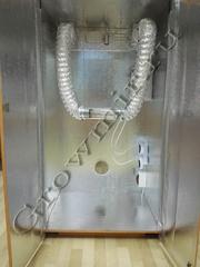 Гроубокс под ключ для выращивания растений с размерами 150x80x62 с ДНАТ освещением