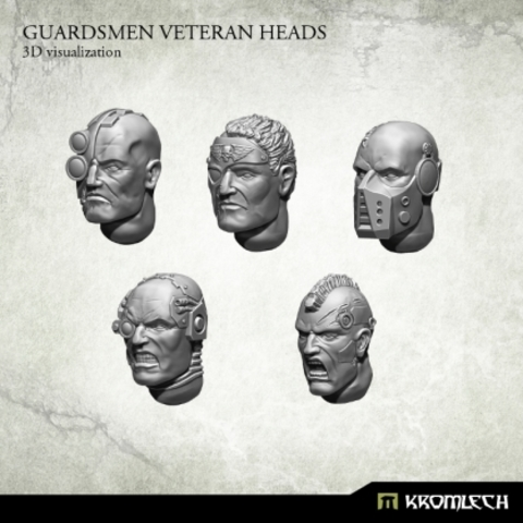 Guardsmen Veteran Heads (10)