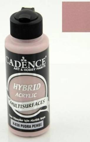 №30 Hybrid Acrylic, Пудровый розовый, 70мл., Cadence