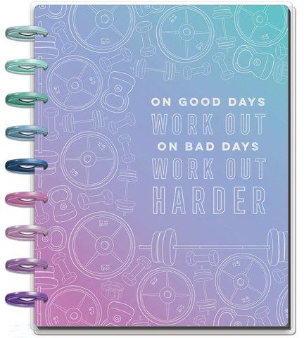 Ежедневник Classic Happy Planner® -19,5х24,5см- Fitness  (НЕ датирован)