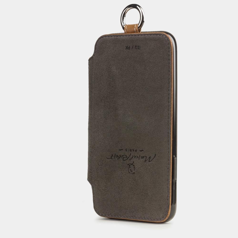 Чехол Marcel для iPhone 11 из натуральной кожи теленка, цвета винтаж