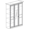 Инна Арт. 625 Шкаф трехдверный