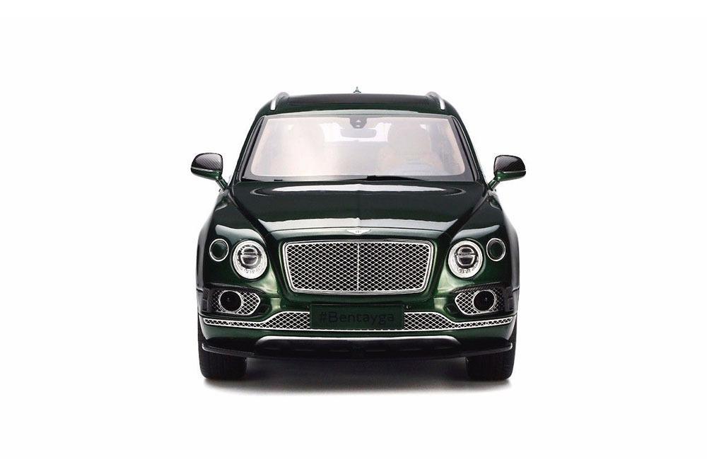 Коллекционная модель Bentley Bentayga Sport Package 2018 Magic Green