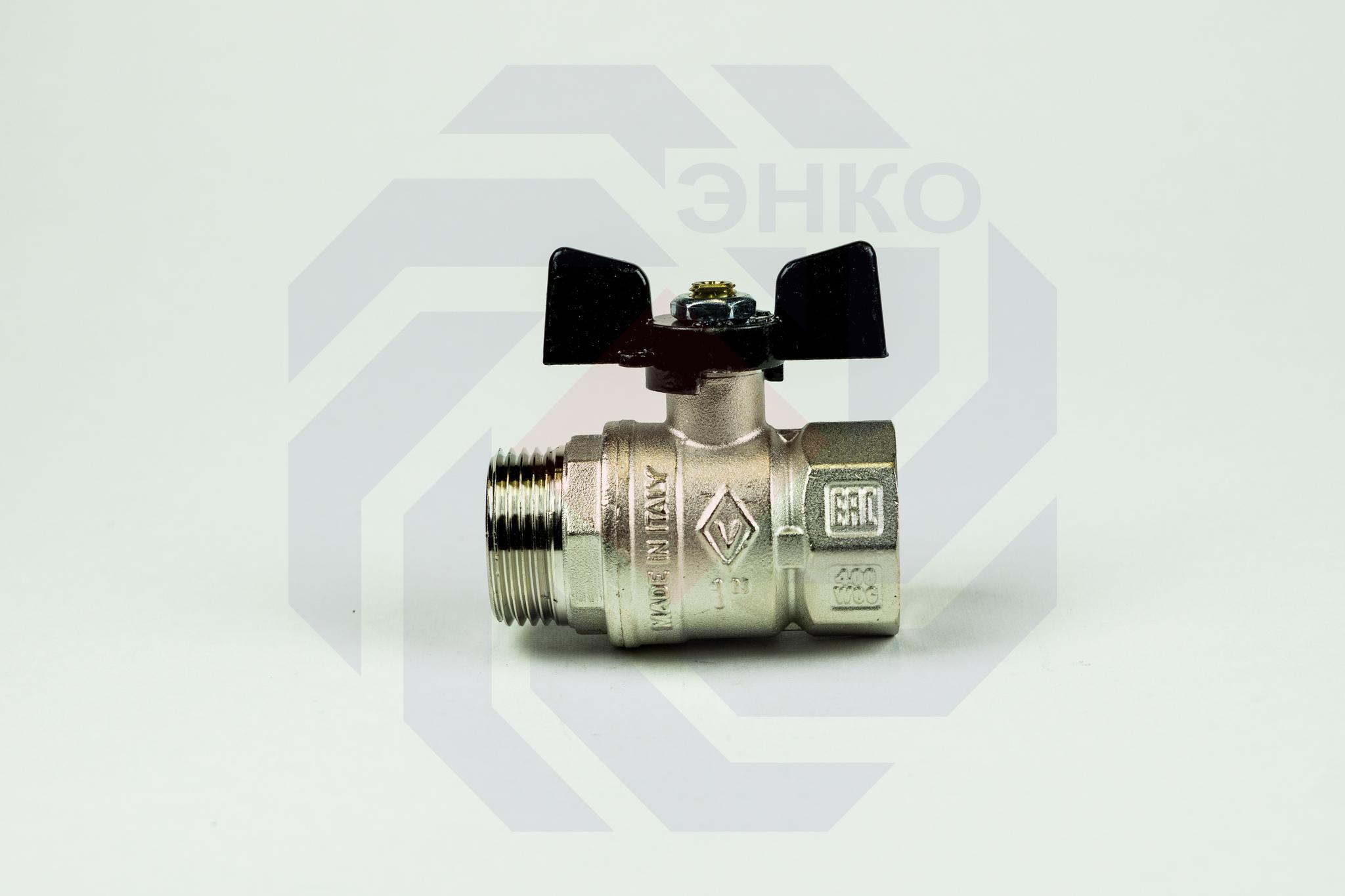 Кран шаровой ВР/НР BUGATTI 607 1