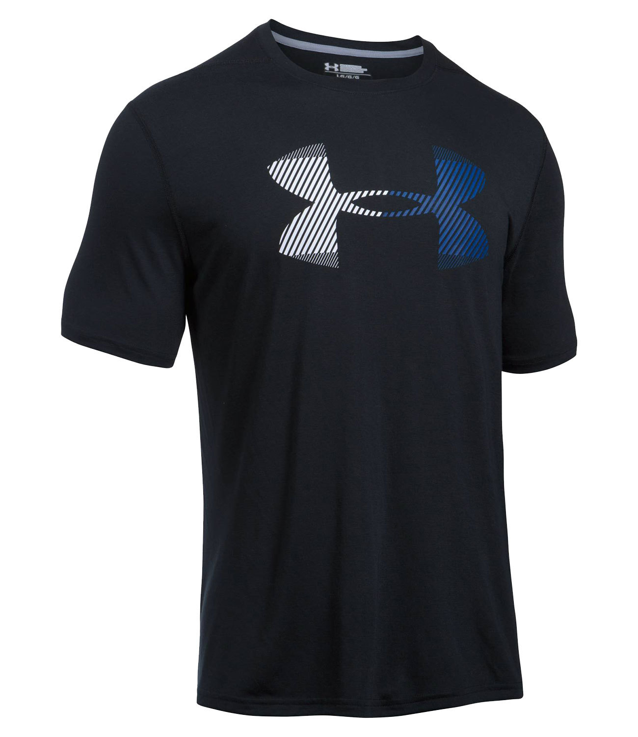 Футболка для бега Under Armour Hazard Logo Threadborne Ss 1290328-001