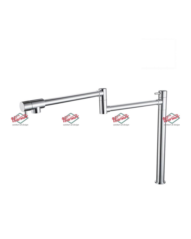 Смесители для кухни Смеситель для кухни Warmer Brushed Chrome Line KNW-0191 KNW-0191-_2_.jpg