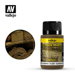Weathering Effects 40ml. European Thick Mud