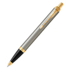 Parker IM Core - Brushed Metal GT, шариковая ручка, M