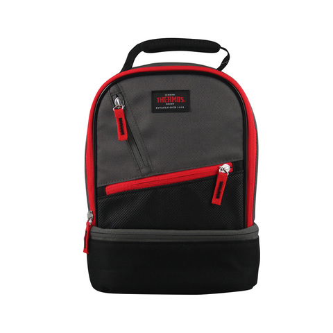 Термосумка детская Thermos Berkley Dual Lunch Kit Red, 4,5 л. (черная)