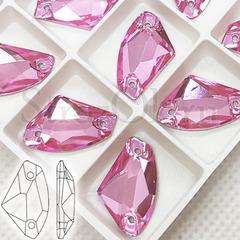 Купите стразы для обувь на Угги пришивные Galactic Light Rose розовые