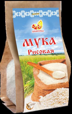 Мука Рисовая, 300 гр. (Дивинка)
