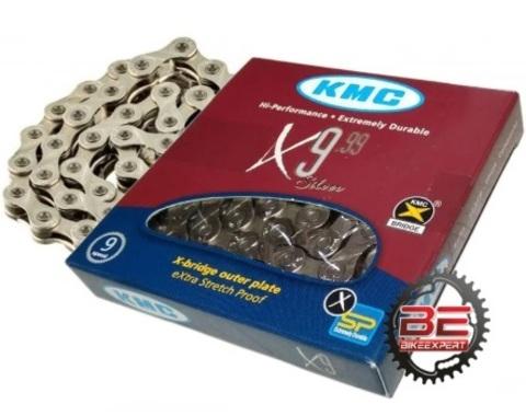 Велосипедная цепь KMC X9-99
