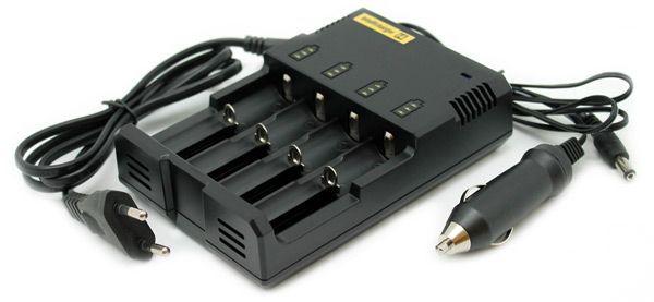 зарядное устройство NiteCore V2 intellicharge i4 цена
