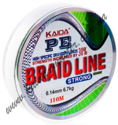 Плетенка BRAID LINE KAIDA strong YX-112-10