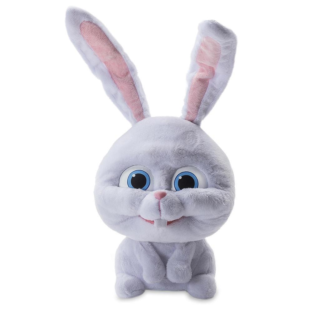 Кролик Снежок интерактивная игрушка Тайная жизнь животных