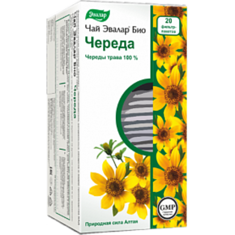 Эвалар БИО чай Череда 20 ф/п