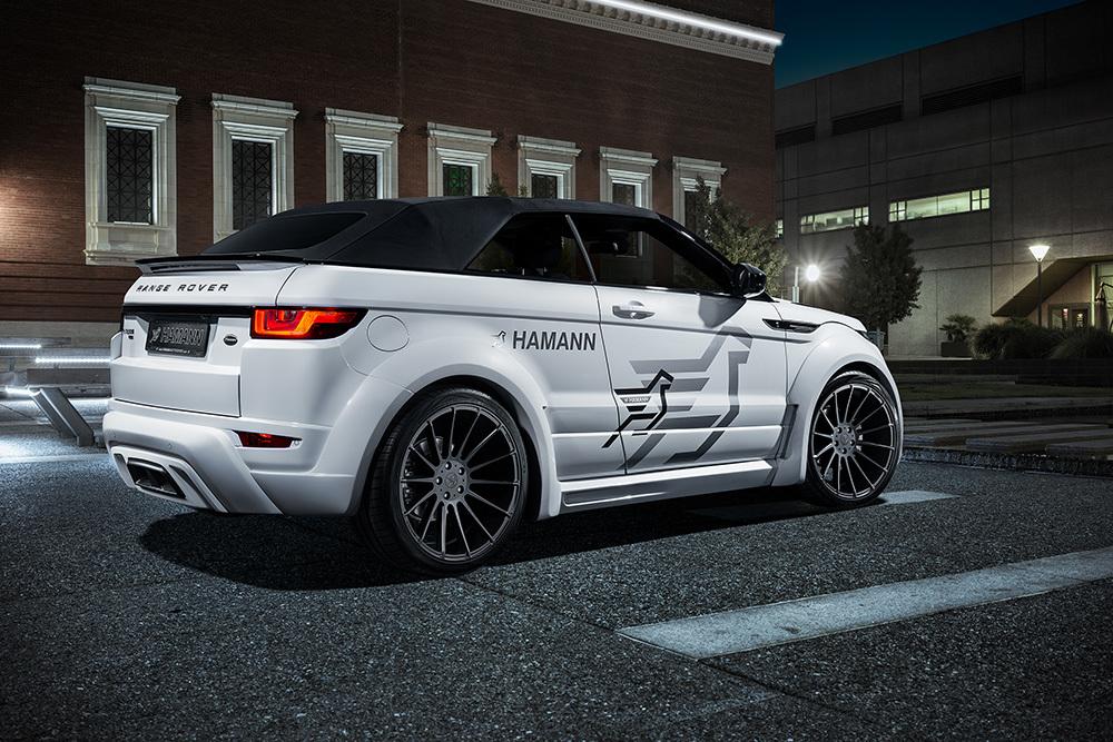 Обвес Hamann для Range Rover Evoque Cabrio Widebodykit