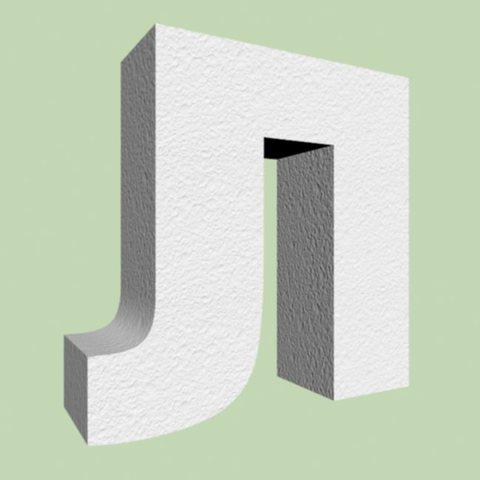 Буква Л  шрифт Arial