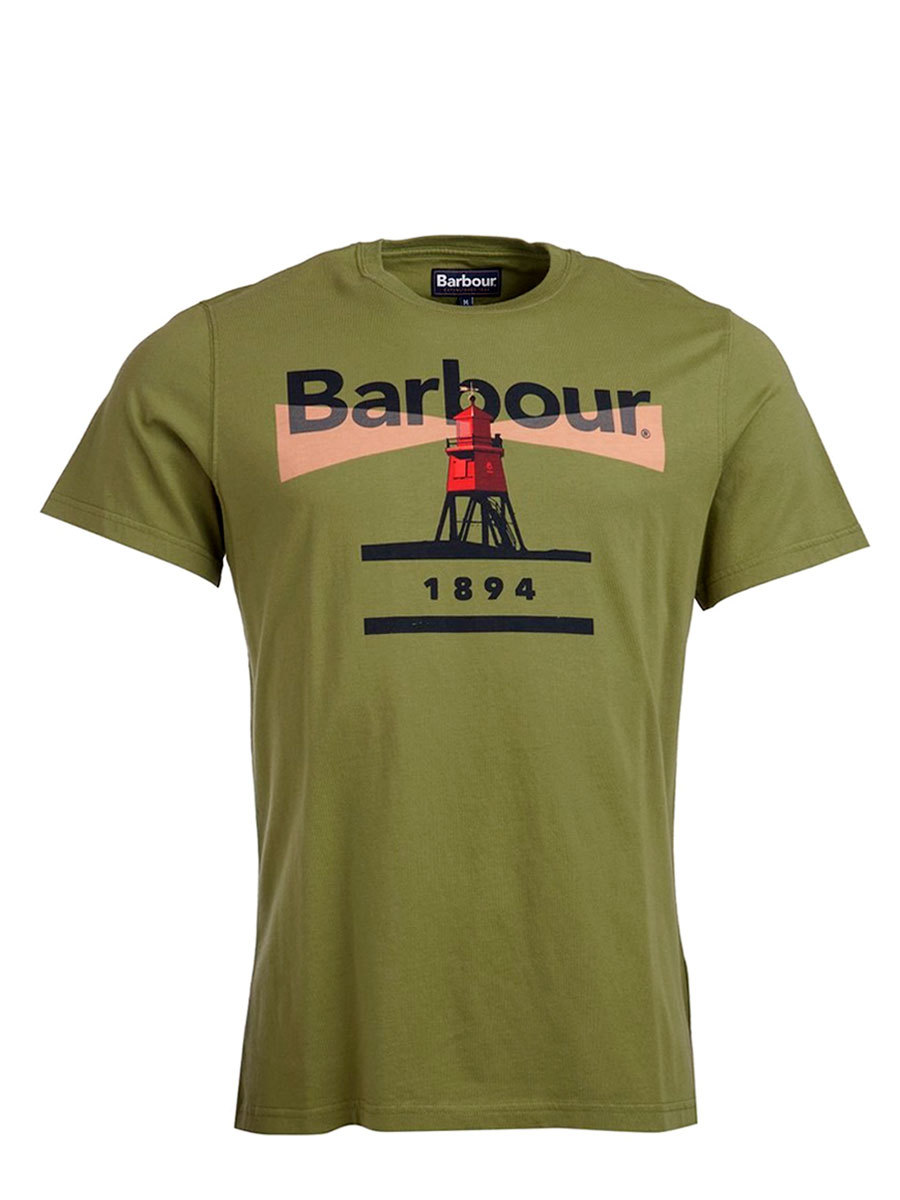 Barbour футболка Lighthouse 94 Tee MTS0375/OL39