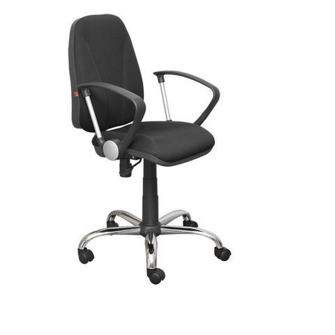 Кресло офисное Клио черное (ткань/пластик/металл)