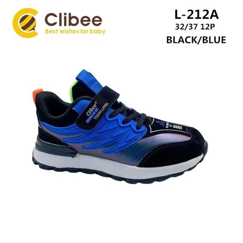 Clibee L212A Black/Blue 32-37