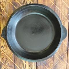 Чугунная крышка сковорода для казана 4,5л