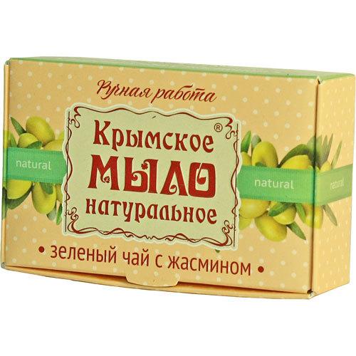 Банное мыло натуральное Зеленый чай