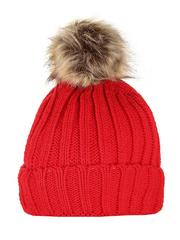 HT1803-2 шапка женская, красная