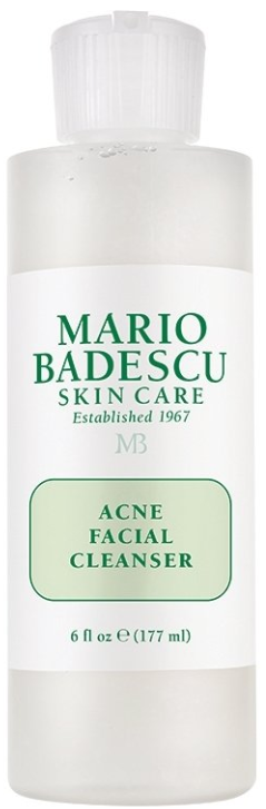 Mario Badescu Acne Facial Cleanser очищающее средство для лица против акне 177мл
