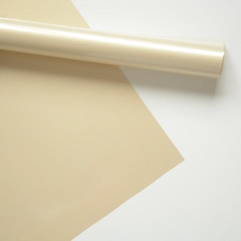 Термотрансферная пленка матовая, цвет: бежевый перламутр, размер отреза  25х25 см