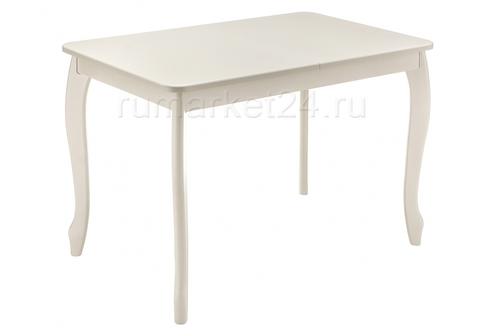 Стол деревянный кухонный, обеденный, для гостиной Амато молочный 67*67*76 Молочный