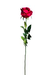 Роза бордовая 71см Garda Decor 8J-11GS0069-3