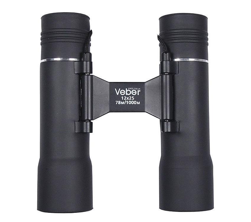 Бинокль Veber БП 12x25 ff с автофокусом - фото 1