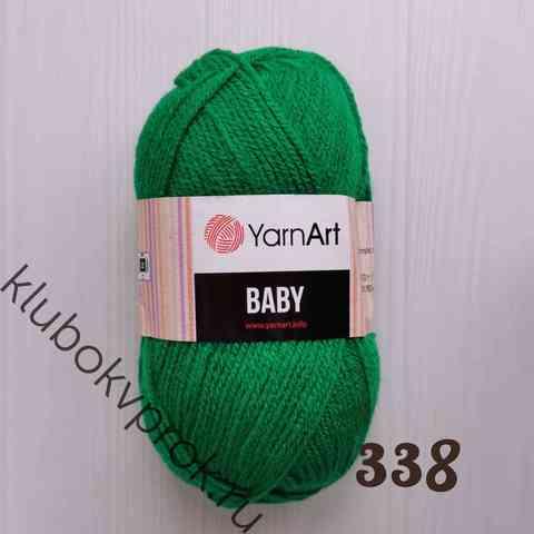YARNART BABY 338, Темный зеленый