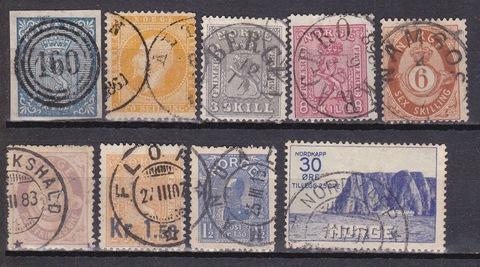 коллекция марок Норвегии