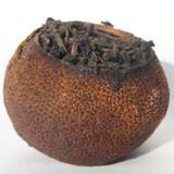 Шу Пуэр в мандарине вид-2